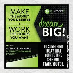 Are you living your life that can make your dreams come true or building up someone else's dreams?!  #ChangeYourLife today and #InvestInYourself with #ItWorksGlobal.  Contact me to learn how to make the money you deserve to make YOUR #DreamsComeTrue! Suzanne 732-207-6819,  Starr_sz@yahoo.com  Http://SuzanneStarr.MyItWorks.com #HireYourself #FireYourBoss #BetterTogether #Teamwork #debtfree #itworks #itworksincome #wraps #OurTime #StartsWithOne