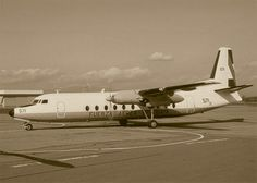 The (Fairchild Hiller) FH-227D that crashed in the Andes in 1972 as Fuerza Aérea Uruguaya Flight 571.