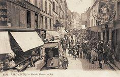 Paris 17ème La rue des Dames vers 1900