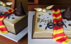 The Cookie Shop: bolo de versão livro, com tema Harry Potter (a partir de R$ 120/kg)