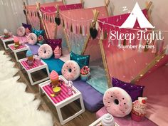 Sleep Tight Slumber Parties creates the ultimate sleep over experience, in the comfort of your own home. Birthday Sleepover Ideas, Fun Sleepover Ideas, Sleepover Activities, 13th Birthday Parties, Birthday Party For Teens, Kids Party Games, Slumber Parties, Sleepover Cake, Tent Parties