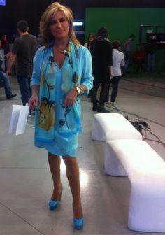 Lydia Lozano siempre elegante, sencilla y a la moda www.pedromiralles.com #PedroMiralles #Shoes