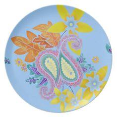 paisley plates | Paisley Plates