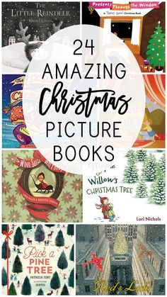 24 of the very best Christmas picture books that you and your children will love throughout the whole holiday season, including new and classic titles, picked by a children's librarian and mama of four! every year, I discover new titles that are are so go Childrens Christmas Books, Best Children Books, Toddler Books, Childrens Books, Children Songs, Children Reading, Christmas Humor, Winter Christmas, Christmas Ideas