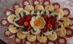 My BEST Recipes >> Way Better Charcuterie Platter - Cooking Recipes 6 Appetizer Display, Charcuterie Platter, Good Food, Yummy Food, Delicious Recipes, Food Carving, Food Garnishes, Incredible Edibles, Party Buffet
