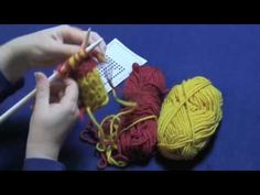 """Learn how to create a two sided knitted fabric using double knitting.  Part 3 of 3:  fixing mistakes and binding off. Taught by Beth Moriarty, author of """"Deep South Knitting."""""""
