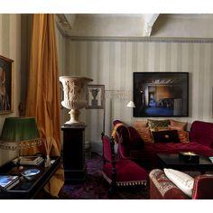 jedna z místností realizovaného interiéru / stylový toskánský nábytek