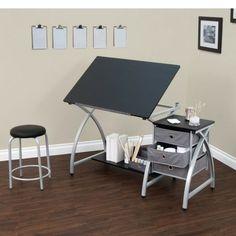 Office Drawing DeskTable ArtistDraftingStudioCraftingStationArchitectWorkstation