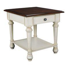 Hammary Furniture - High Point, NC - PROMENADE :: RECTANGULAR DRAWER END TABLE  24x28x25h