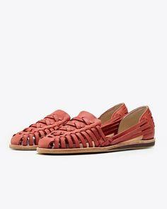 Ecuador Huarache Sandal Scarlet