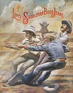 Levi's Saddleman Bootcut Jeans