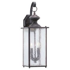 Sea Gull Lighting Sheppard 2 Light Outdoor Wall Lantern