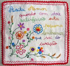 Bordados de Amor Cross Stitching, Cross Stitch Embroidery, Embroidery Patterns, Decoupage Printables, Tea Towels, Garland, Patches, Scrapbook, Sewing