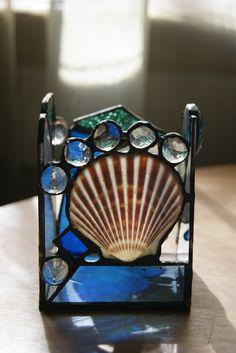 smglassdesigns - candle holder