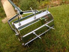 Aerate the Lawn Aerating makes little holes throughout your lawn so that it can breathe and for water and nutrients to go straight to the root system. Aerators are pretty self-explanatory and, if you don't have one, can usually be rented from a local hardware store or nursery