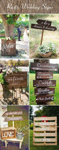 blackboard sign ideas for country wedding