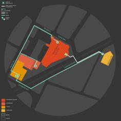 Mapping by Elizabeth Harris, via Behance