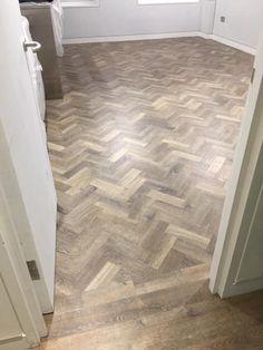 Amtico Herringbone Flooring to Premises Karndean Flooring, Hall Flooring, Living Room Flooring, Parquet Flooring, Kitchen Flooring, Flooring Ideas, Floors, Herringbone Wood Floor, Herringbone Pattern