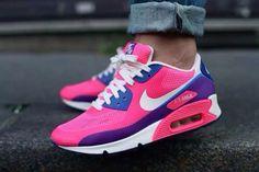 Air max pink,purple,blue