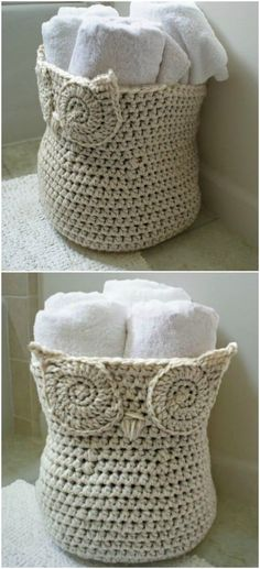 Crochet For Beginners 100 Free Crochet Patterns That Are Perfect For Beginners - Really easy patterns doable by anyone! You will find crochet patterns for people of of ages, including kids! Try making one of the free fun beginner crochet patterns today! Crochet Home, Crochet Crafts, Crochet Baby, Knit Crochet, Headband Crochet, Diy Crafts, Crochet Owl Basket, Crochet Geek, Crochet Quilt