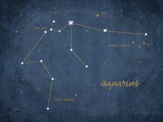 Constellations Aquarius