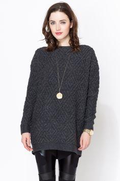 Maison Scotch Oversized Fit Sweater on shopstyle.com
