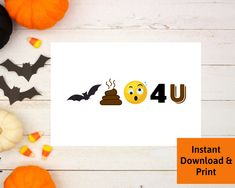 Halloween Card for Boyfriend, Halloween Card for Husband, Girlfriend, Wife, Printable Digital Download by PSILoveYouInspires on Etsy