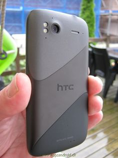 HTC Sensation kamera on the back.