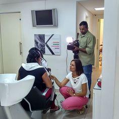 Hoje tem mais projeto Mãe Luz. Um dia de muito glamour para as mães do GACC.  Olha que chic teve até entrevista com o pessoal da TV Tropical. Legal né? #GACCRN #MÃELUZ #2016 #TVTROPICAL