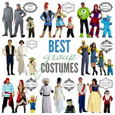16 Group Halloween Costumes For You And Your Squad | 16, Costumes ...