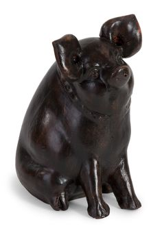 IMAX Curious Pig Figurine & Reviews | Wayfair $45