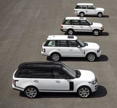 The year was on this exact day and Land Rover had an SUV prepared to debut in the automotive realm. The name was Range Rover, a model that lived on to see four generations of cars unfolding over time. Bugatti, Maserati, Lamborghini, Ferrari, Range Rover Classic, Range Rover White, Range Rover Supercharged, Land Rover Discovery, Range Rover Sport