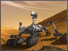 CURIOSITY Y OTRAS CURIOSIDADES // ¡Más quién lo iba a pensar: primer platillo volante que ha surcadolos espacios, no ha sido de marcianos a la Tierra, sino de los terrícolas a Marte!. Las marcianas bacterias diminutas, si habría vida inteligente preguntaban y a la vista del ingenio mecánico sacarán - creo - conclusiones muy falsas. Si bien es grande la hazaña tecnológica, aquí en la Tierra la crisis está… (Ver ➦)…