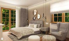 sypialnia nowoczesna w lekko orientalnym klimacie - zdjęcie od Grafika i Projekt architektura wnętrz - Sypialnia - Styl Nowoczesny - Grafika i Projekt  architektura wnętrz