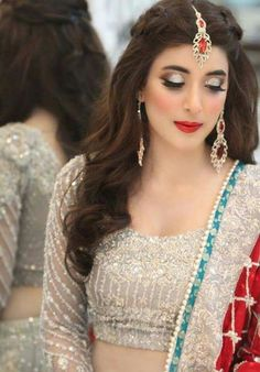57 Best Pakistani Bridal Hair \u0026 Makeup images