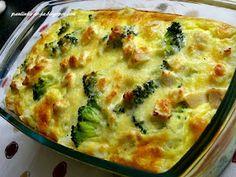Smak mojej kuchni...: Ryżowa zapiekanka z kurczakiem i brokułami