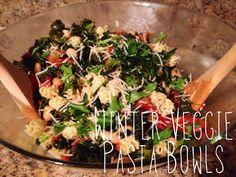 Breakfast in Bread: Winter Veggie Pasta Bowls
