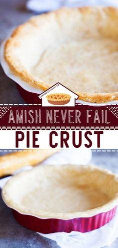 When all else fails, trust that this homemade Amish Pie Crust won't. It's the perfect crust for anything! From apple pies to pot pies, this quick and simple recipe will never fail you. It's delicate, light, flaky, and addicting to eat. Save this best food idea! Apple Recipes Easy, Baking Recipes, Pie Crust Recipes, Apple Pies, Pot Pies, Love Cake, Sweet Desserts, Amish, Finger Foods