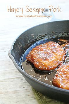 Honey Sesame Pork