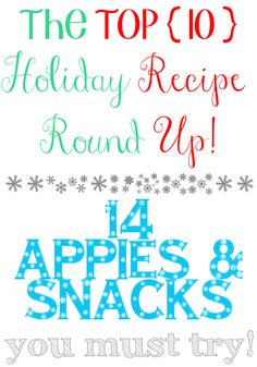 Gastronomical Sovereignty: 14 Amazing {real food} Holiday Appetizer & Snack Recipes You Must Try  What should you serve as appies for your par-tay guests this holiday season? Well, I'm glad you asked! Here are 14 amazing (and ridiculously pinnable) appetizer and snack recipes that you absolutely must try!   http://www.gastronomicalsovereignty.com/2013/12/14-amazing-real-food-holiday-appetizer.html