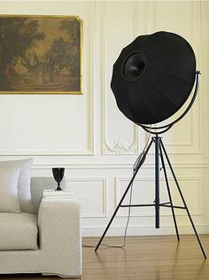 Fortuny Lamp (1907).  Designed by Mariano Fortuny for Pallucco.
