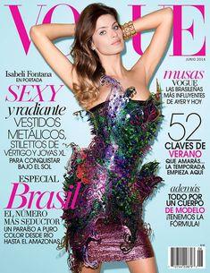 Isabeli Fontana Heats Up Not 1, But 2 June Magazine Covers