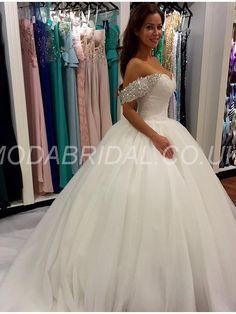 modabridal.co.uk SUPPLIES Tailormade Fall Church Hall Garden/Outdoor All Sizes Chapel Beading Summer Wedding Dress Simple Wedding Dresses