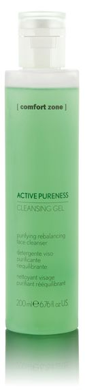 A fresh and delicate fluid gel for daily use, to cleanse skin with impurities and tendency to excessive sebum production.