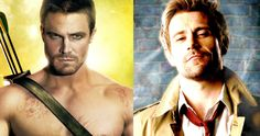 'Arrow' Star Wants to Save 'Constantine' with a Crossover -- Stephen Amell hopes to save 'Constantine' by promising he'll appear as 'Arrow' if Netflix or another network pick up the canceled series. -- http://movieweb.com/arrow-tv-show-constantine-crossover-stephen-amell/