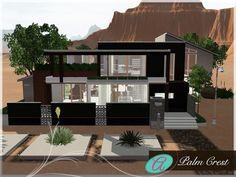 Palm Crest house by Aloleng - Sims 3 Downloads CC Caboodle