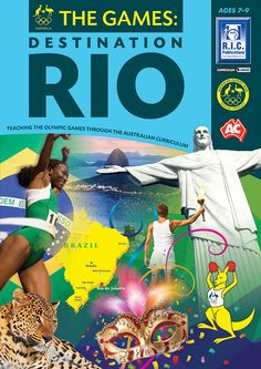 The Games: Destination Rio is a three book series which teaches content from all learning areas of the Australian Curriculum through the Olympic Games theme. Each book contains twenty-three units which cover information about the: history of the Olympic Games Rio 2016 Olympic Games physical and cultural features of South America, Brazil and Rio de Janeiro organisation of sports and the importance of sportsmanship the nations involved in the Olympic Games