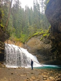 Looking for tips for your Banff National Park roadtrip? My husband and I spent 4 days exploring the area. Here's our tips on the top must-see sites! Banff National Park, National Parks, Johnston Canyon Banff, Banff Canada, Time Travel, Vacation Ideas, The Great Outdoors, Places To Go, Travel Photography