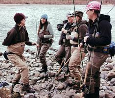 fly fishing is for everyone....go girls