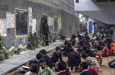 """Free School, Under the Bridge"" is a classroom for nearly 200 underprivileged children."
